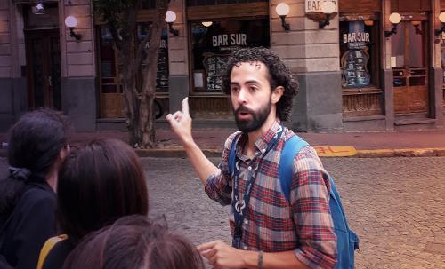 city tour with Pablo